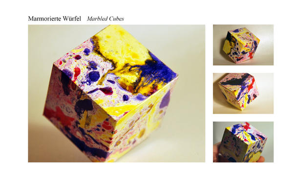Marbled Cubes by iPlewnia22