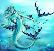 Aya The Mermaid by Artoki