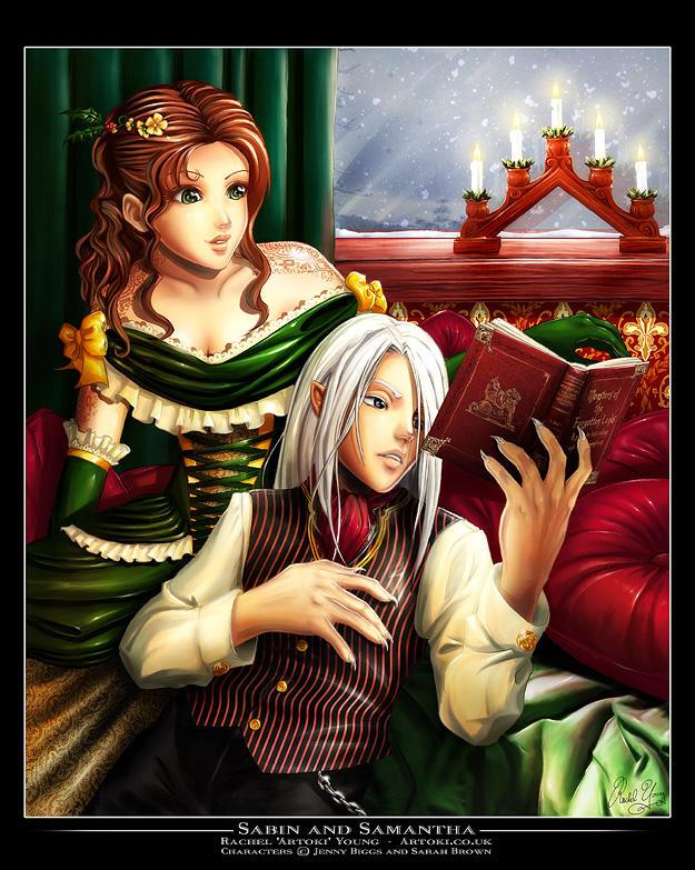Sabin and Samantha by Artoki