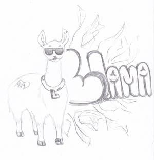Gangster Llama