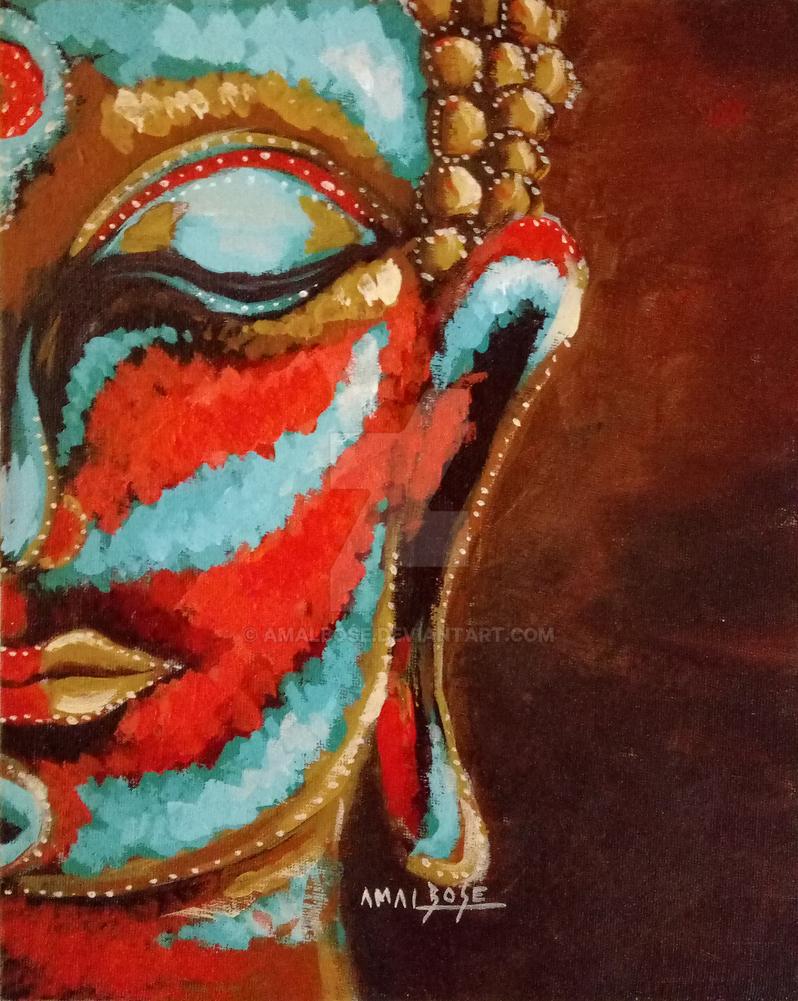 Buddha by amalbose