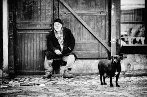 The old man and the dog by jericho1405