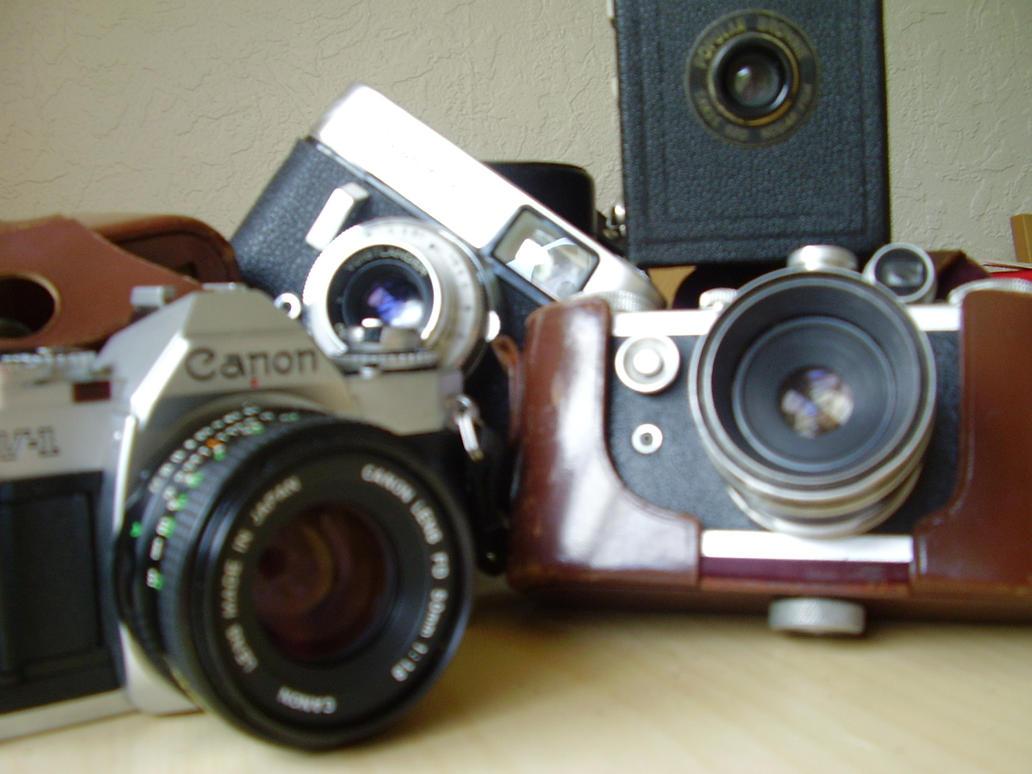 cameras by Kayola