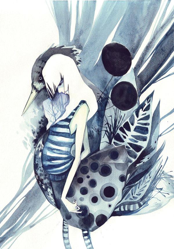...bird... by buguanle
