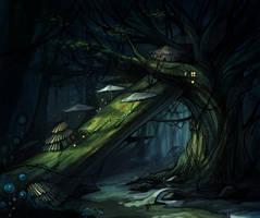 tree by buguanle