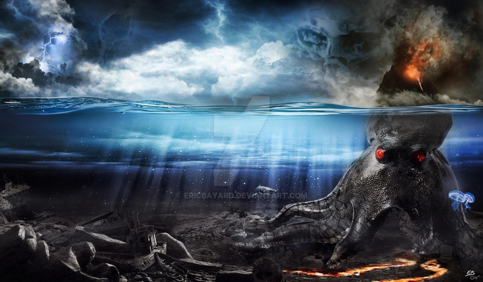 Twenty Thousand Leagues Under the Sea. by ericbayard