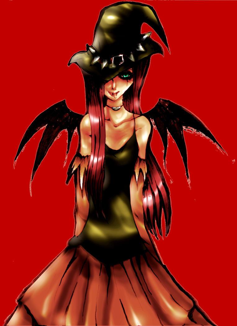 hallowen girl 2 by wirarama