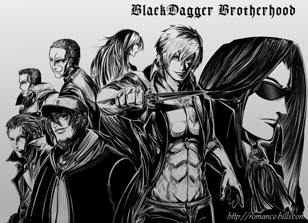 Black Dagger Brotherhood By Romancehills On DeviantArt