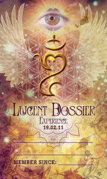 Lucent Dossier New Member Card