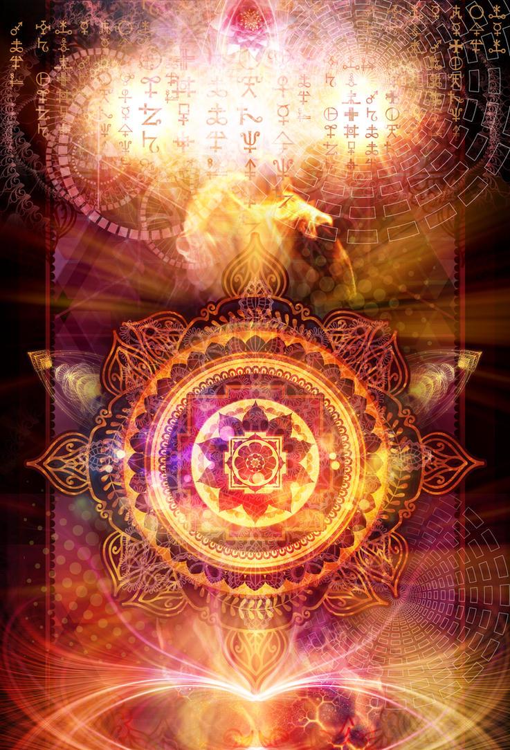 Fire Mandala by Soul7