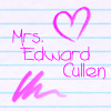 Mrs Edward Cullen by xCherryxLipsx