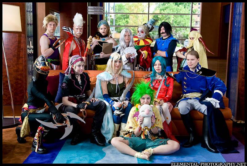 Final Fantasy VI cast by gerodere on DeviantArt