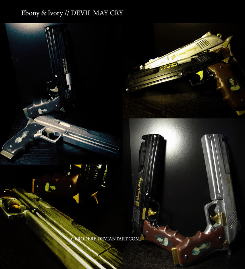 Devil May Cry Ebony And Ivory Replica 9