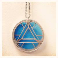 Arc Reactor pendant necklace