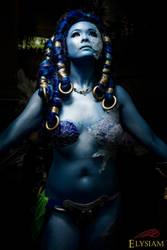 The goddess rises