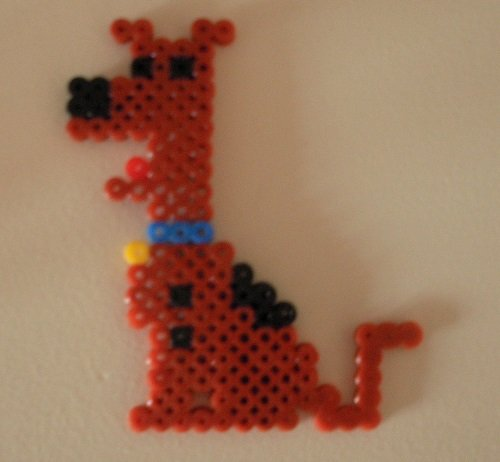 Scooby - The dog from Scooby Doo by HamaBeadPatterns