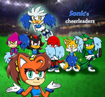 -Sonic's Cheerleaders!- by Biko97