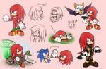 -STH Knuckles Doodles!-