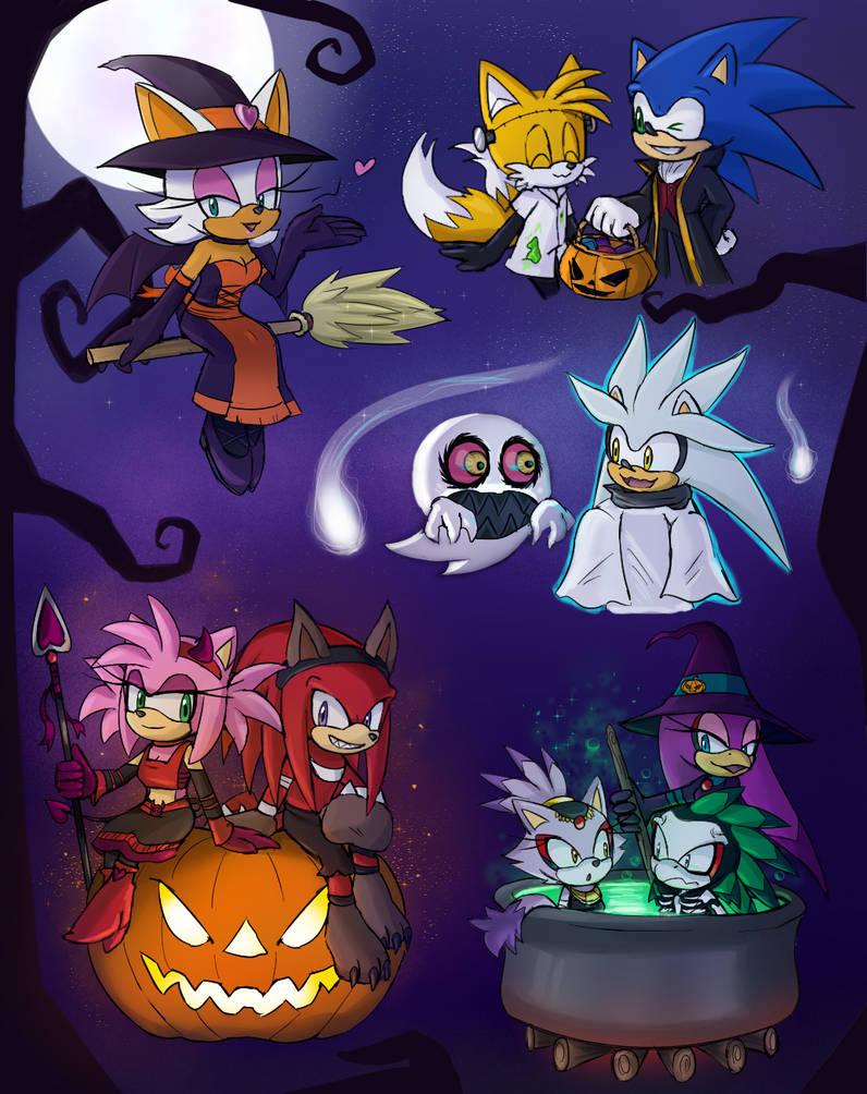 -STH Halloween Doodles- by Biko97
