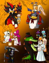 -STH Halloween Doodles 2- by Biko97