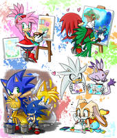 -STH Painting Doodles- by Biko97