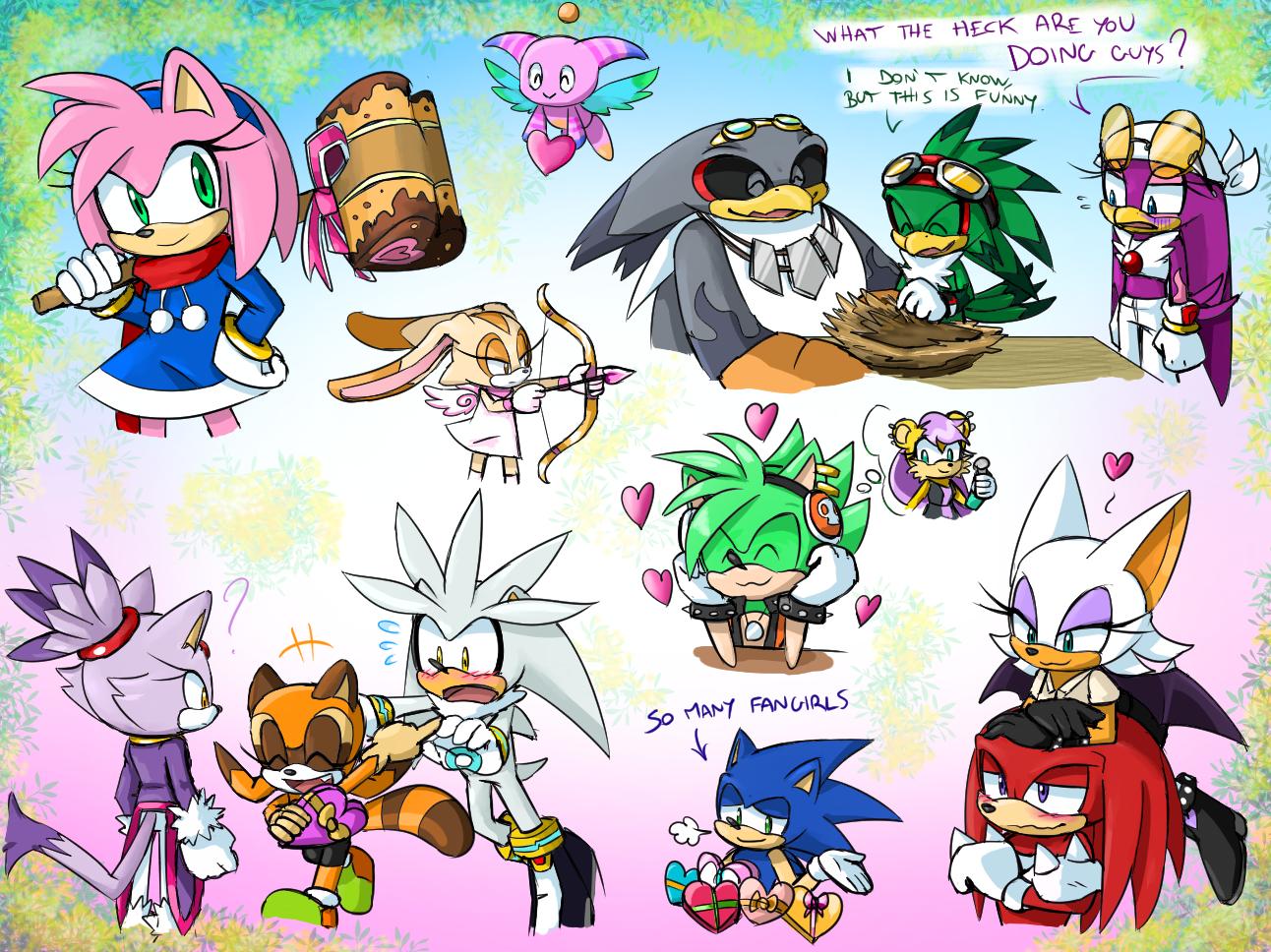 -STH Saint Valentine Doodles!- by Biko97
