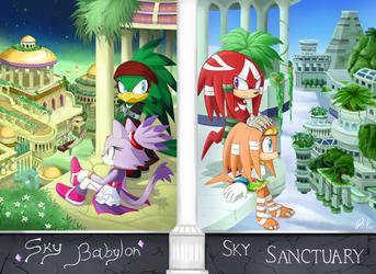 -STH SKY Babylon and Sanctuary- by Biko97
