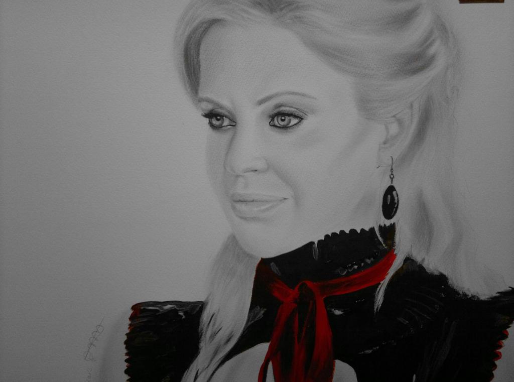 Kristin Bauer van Straten art