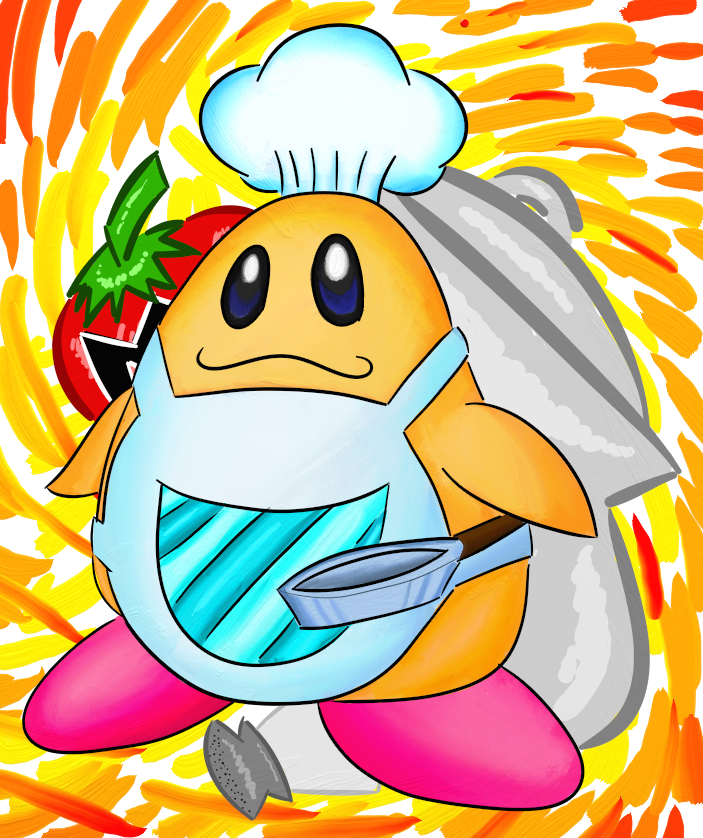 Kirby Super Star Ultra Chef Kawasaki By Brzozod526