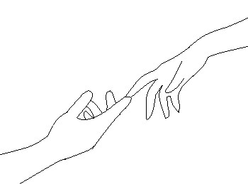 reach for my hand by ana-the-angle123 on DeviantArtDrawings Of Hands Holding Each Other