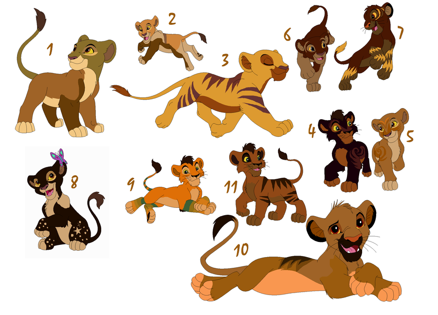 how to draw a baby lion cub