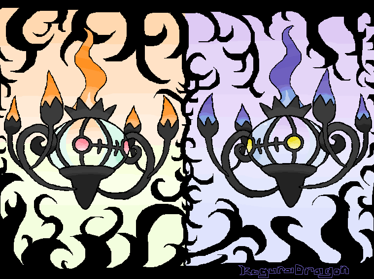 Chandelure by KaguraDragon