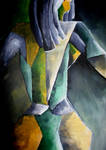 Cubist Lady by Lalliebear