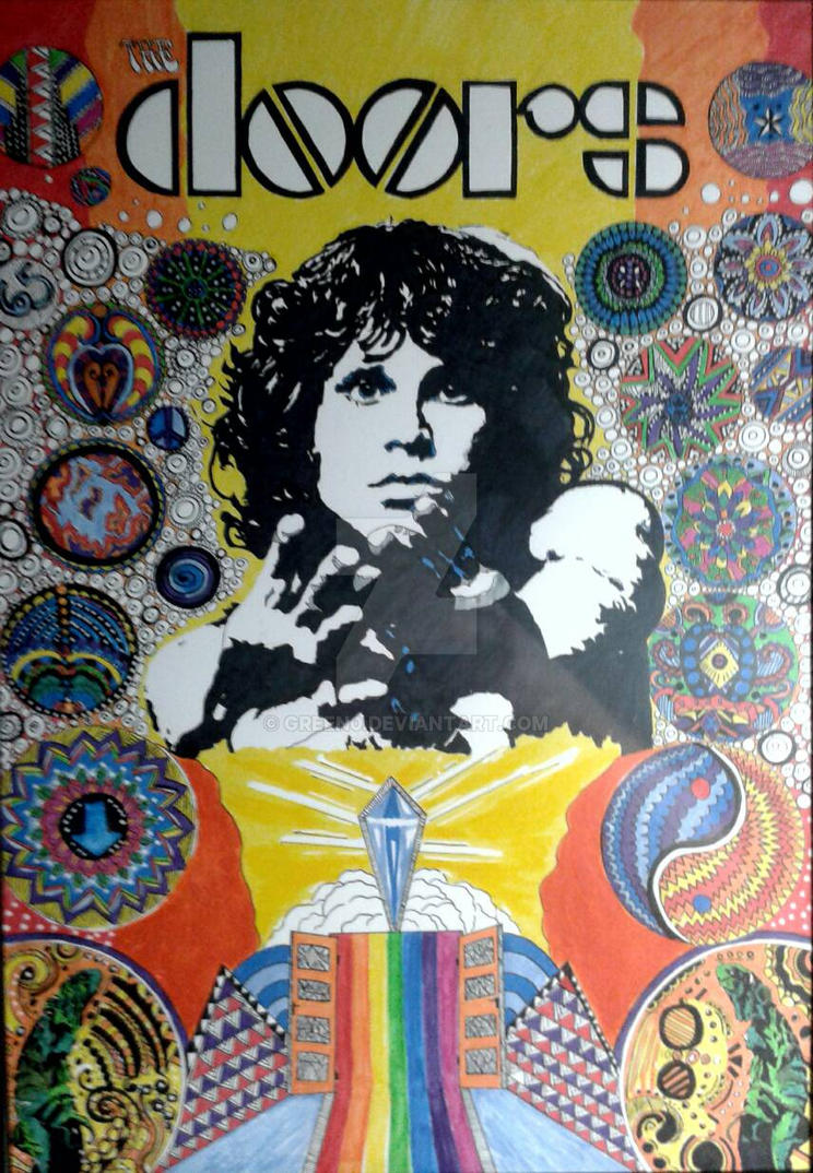 Jim Morrison - The Doors by green0
