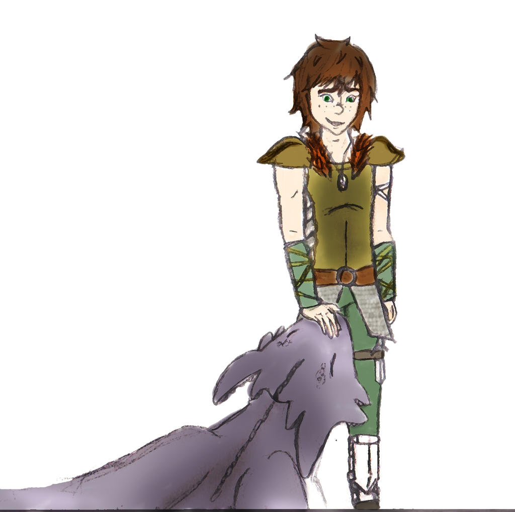 Hiccup older by FormyHijackArt