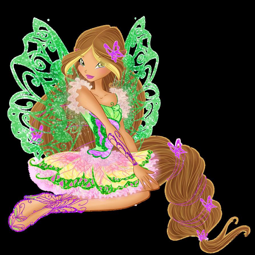 Flora Butterflyix by BySarahBrain