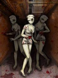Silent Hill Bubblehead Nurses by Jigokuko