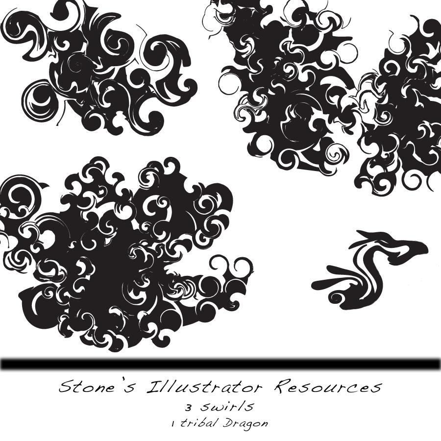Illustrator Swirls by Stoneface-GFX