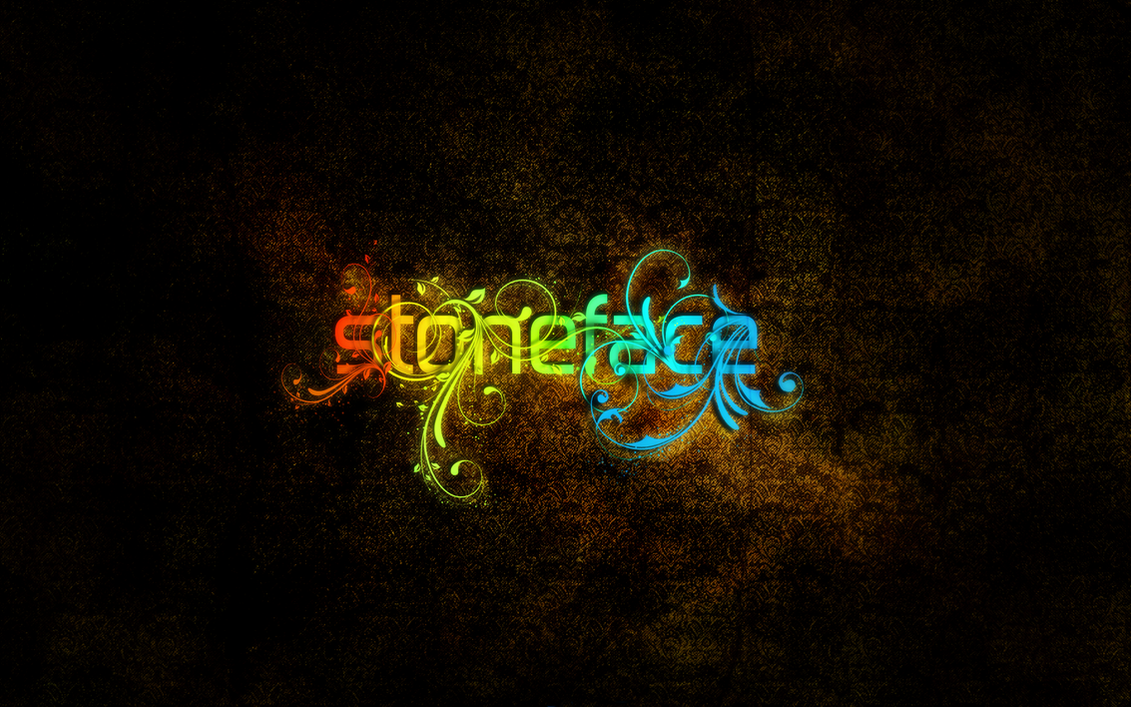 Stoneface__neon_typography_by_stoneface_gfx