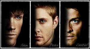 Supernatural Cast Portraits