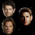 Supernatural PNG Template Pack 1