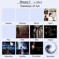 Art Summary 2012 by debzb17