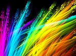 Rainbow Grass Fractal