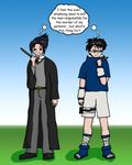 When Harry Met Sasuke
