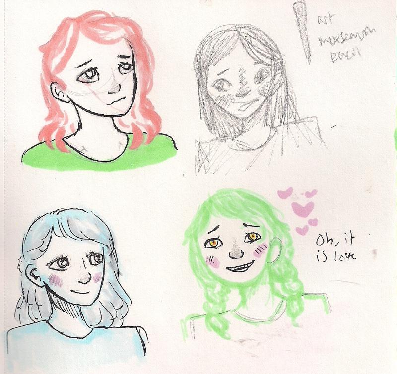 Random Copic Drawings by whompingwilla