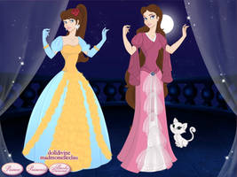 GTE Cinderella and Sleeping Beauty by BlazingTyphlosion