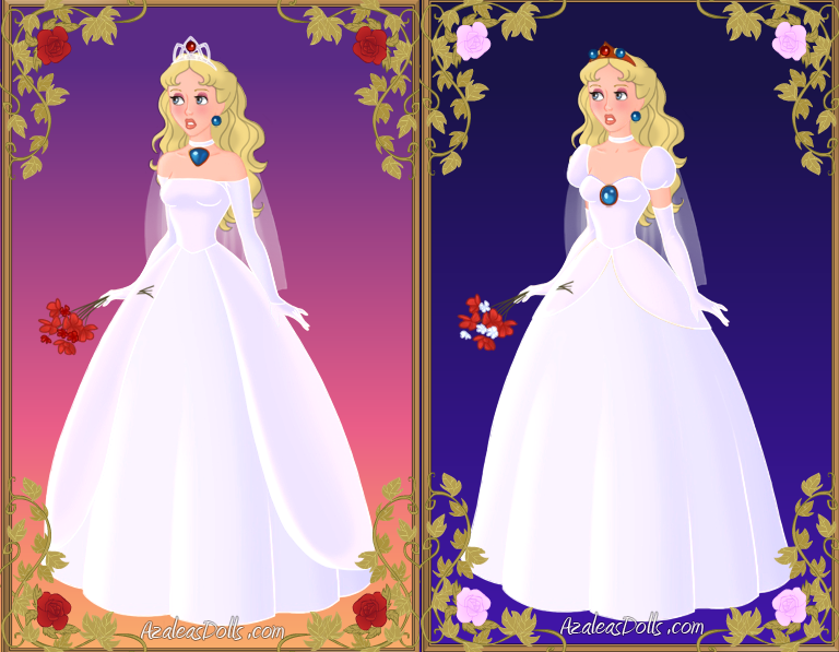 Princess Peach\'s wedding dresses by BlazingTyphlosion on DeviantArt