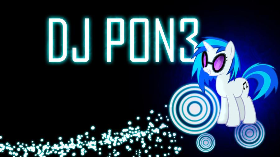 DJ Pon3 Wallpaper by ElmoDesigns