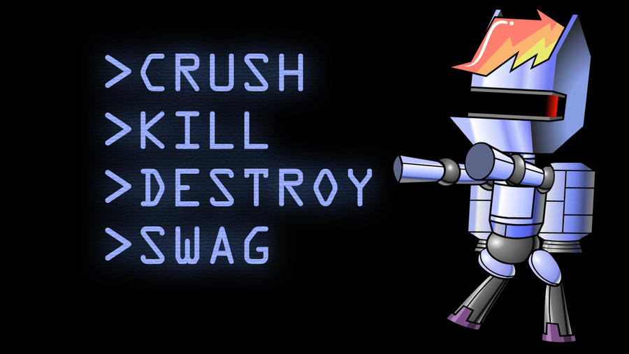 R-Dash 5000 Crush. Kill. Destroy. Swag. by ElmoDesigns