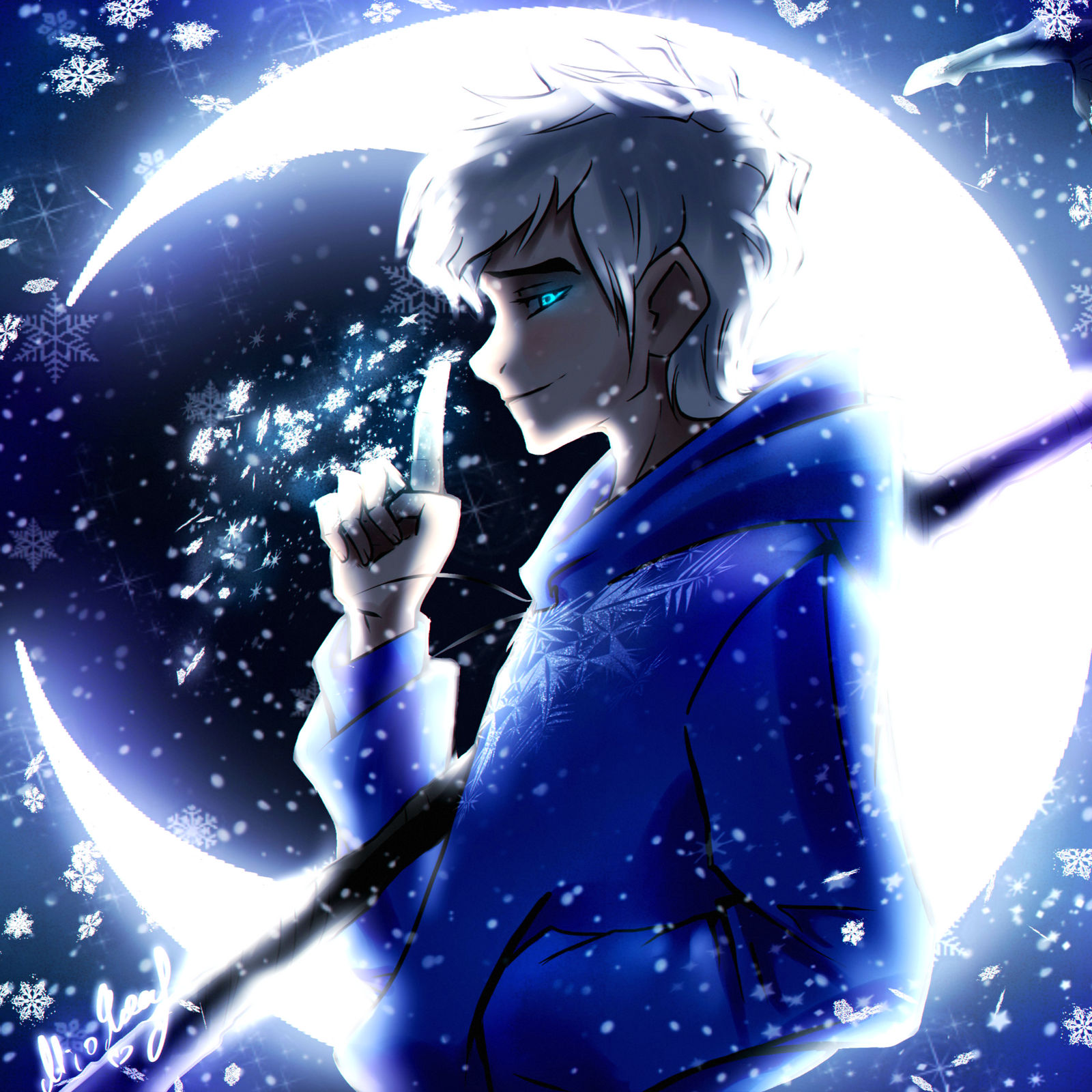 Jack Frost Magic Moon By Nightsy01 On Deviantart